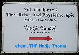 Tier-Reha- und Physiotherapie Nadja Vanhoef